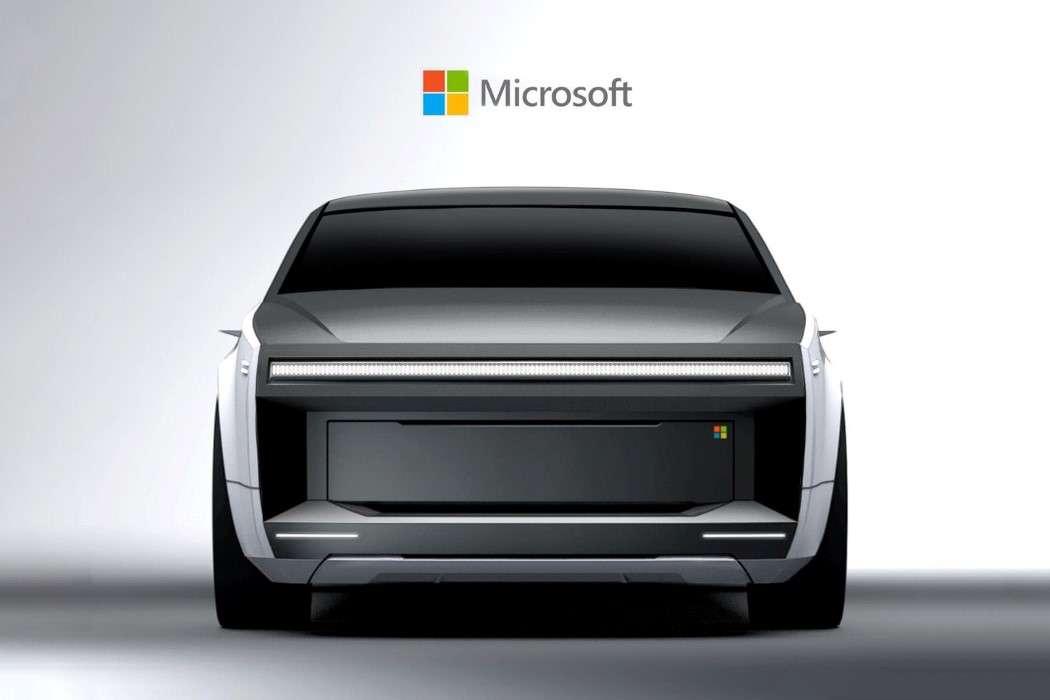 Une voiture électrique et autonome Microsoft ? Voici à quoi elle pourrait ressembler - Futura
