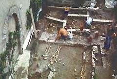 Des fouilles archéologiques