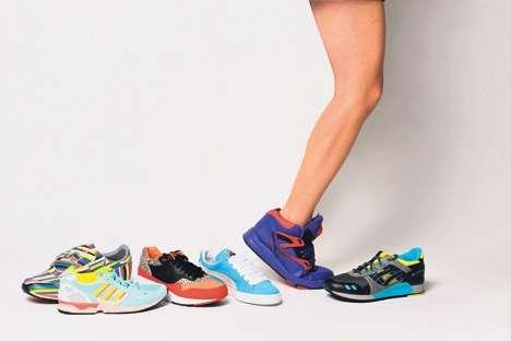 Les baskets ne sont pas adaptées pour une utilisation quotidienne et peuvent devenir nuisibles pour le pied. © Gérald Bosshard, DR