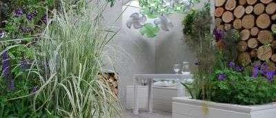 The Reconnection Garden par Jo Thompson, présenté à la Coupe du monde de paysagisme 2011, au Japon. © Gardening World Cup Japan/Jo Thompson