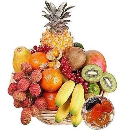 Les fruits, c'est si bon... Crédit : Aquarelle.com