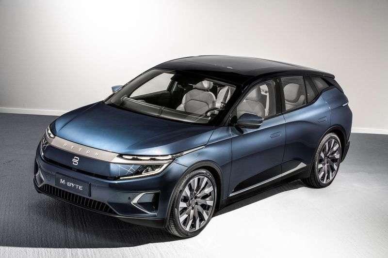 Salon de Francfort 2019: Byton dévoile la version finale de son SUV électrique M-Byte