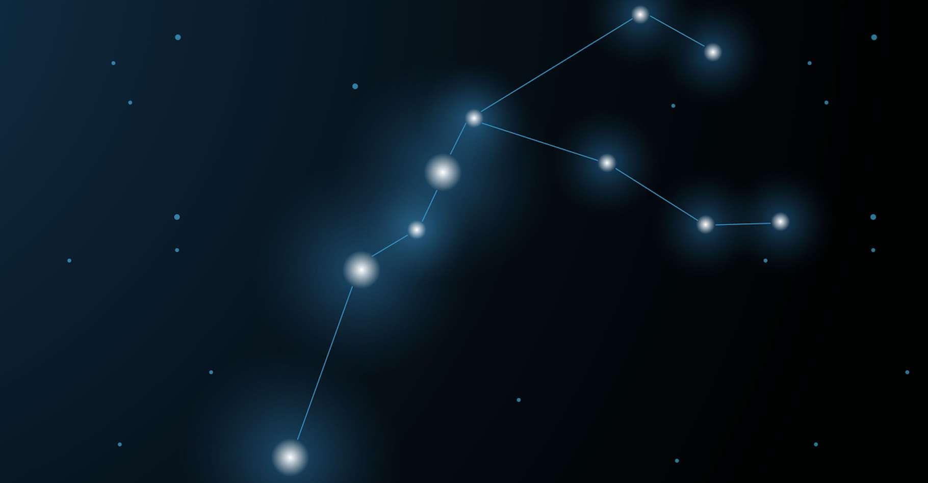 Les deux exoplanètes orbitent autour d'étoiles de la constellation du Verseau, l'une située à 1.300 années-lumière, l'autre à 1.230. © katy_novikova
