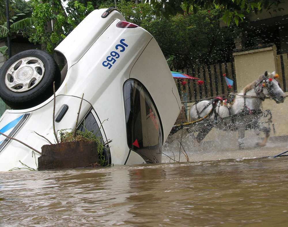 L'Europe et le monde ont connu ces dernières années des inondations importantes. De tels événements pourraient se produire plus souvent à cause du réchauffement climatique dans les décennies à venir. © Gajah mada, Wikipédia, cc by sa 2.0