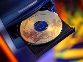 Gravure CD/DVD artistique chez HP : technologie LightScribe