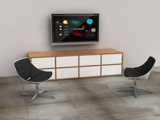 Le Scandinavia, un téléviseur pour jouer sur Internet dans son salon. © People of Lava