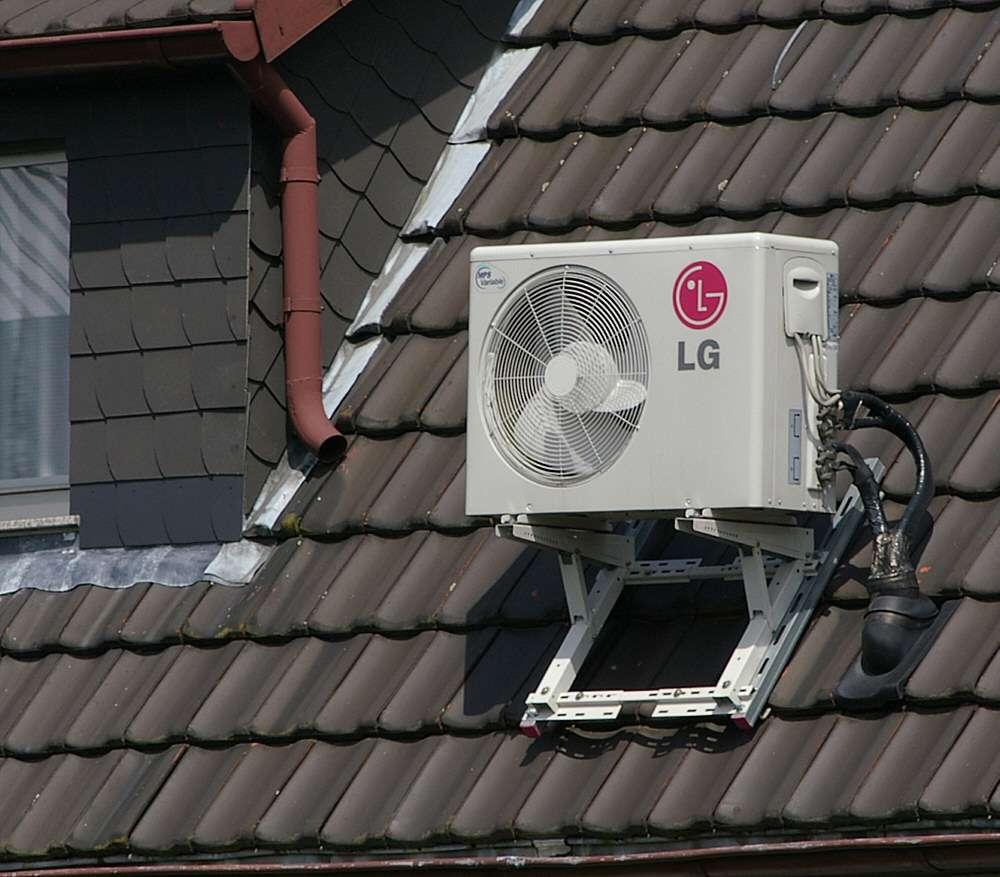 La climatisation permet d'apporter un peu de fraîcheur à des températures trop élevées. © Smial, CC BY-SA 2.0, Wikimedia Commons