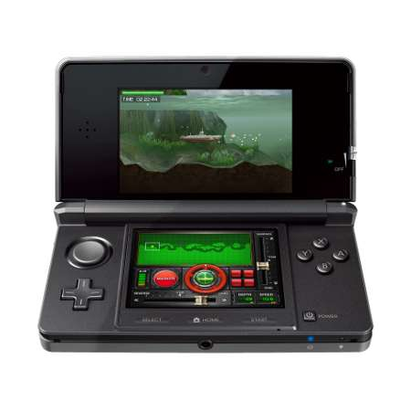 Dotée d'un écran auto-stéréoscopique, la Nintendo 3DS est la première console de jeu portable qui offre la 3D sans lunettes. © Nintendo