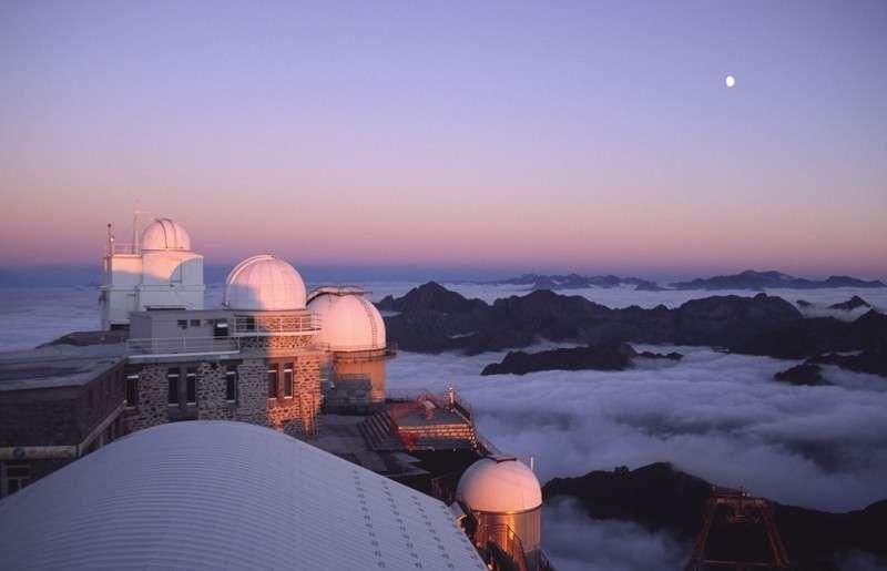 L'Observatoire du Pic du Midi. Crédit N. Strippe