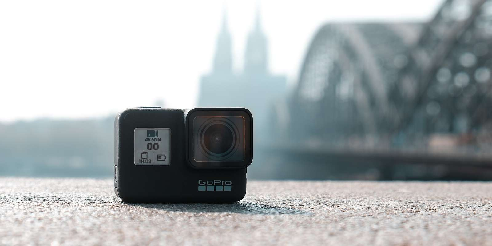 La GoPro HERO7 Black, une caméra haute définition polyvalente, actuellement en promotion. © Unsplash