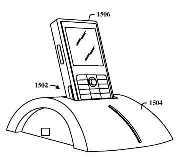 Un socle équipé d'un processeur, de mémoire, de logiciels de communication et de prises USB, pour relier un mobile ou un PDA à de multiples périphériques. © Microsoft