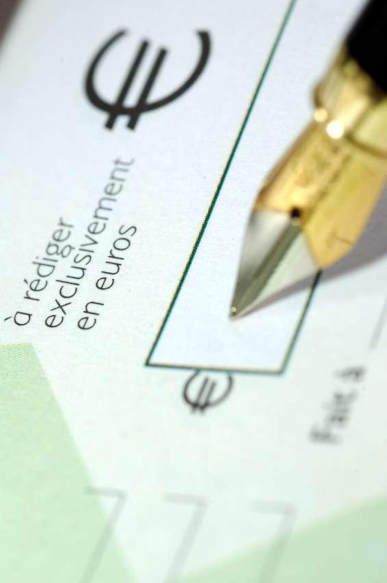 Principal risque d'un chèque sans provision : interdiction bancaire de cinq ans. © Fotolia