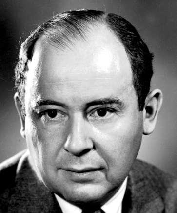 John Von Neumann. Crédit : Penn State university