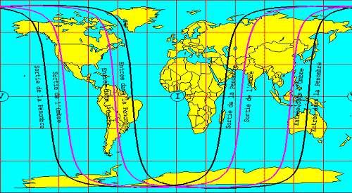 Eclipse totale de Lune, visible en Asie, en Australie, sur continent américain et dans l'océan Pacifique