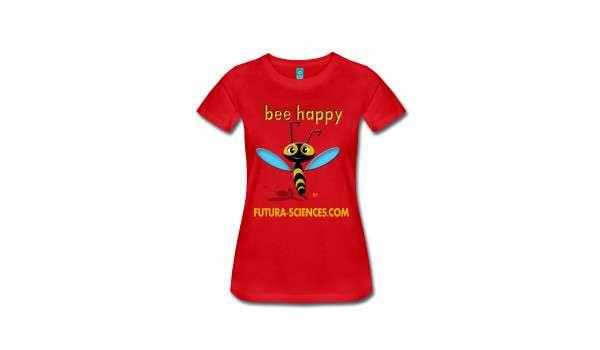 Pour la rentrée, portez des T-shirts originaux sur le thème des abeilles. © Futura-Sciences