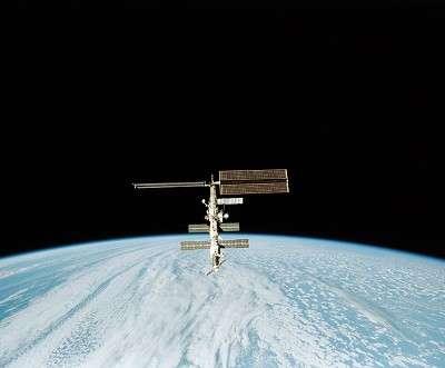 La Station Spatiale Internationale (ISS)Crédit : ESA