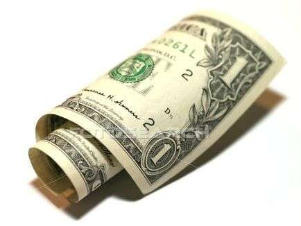 Bouquet de dollars. Source Photosearch