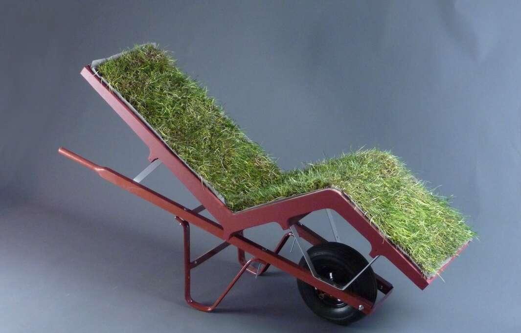 Living lawn chair - Crédits : Deger Cengiz