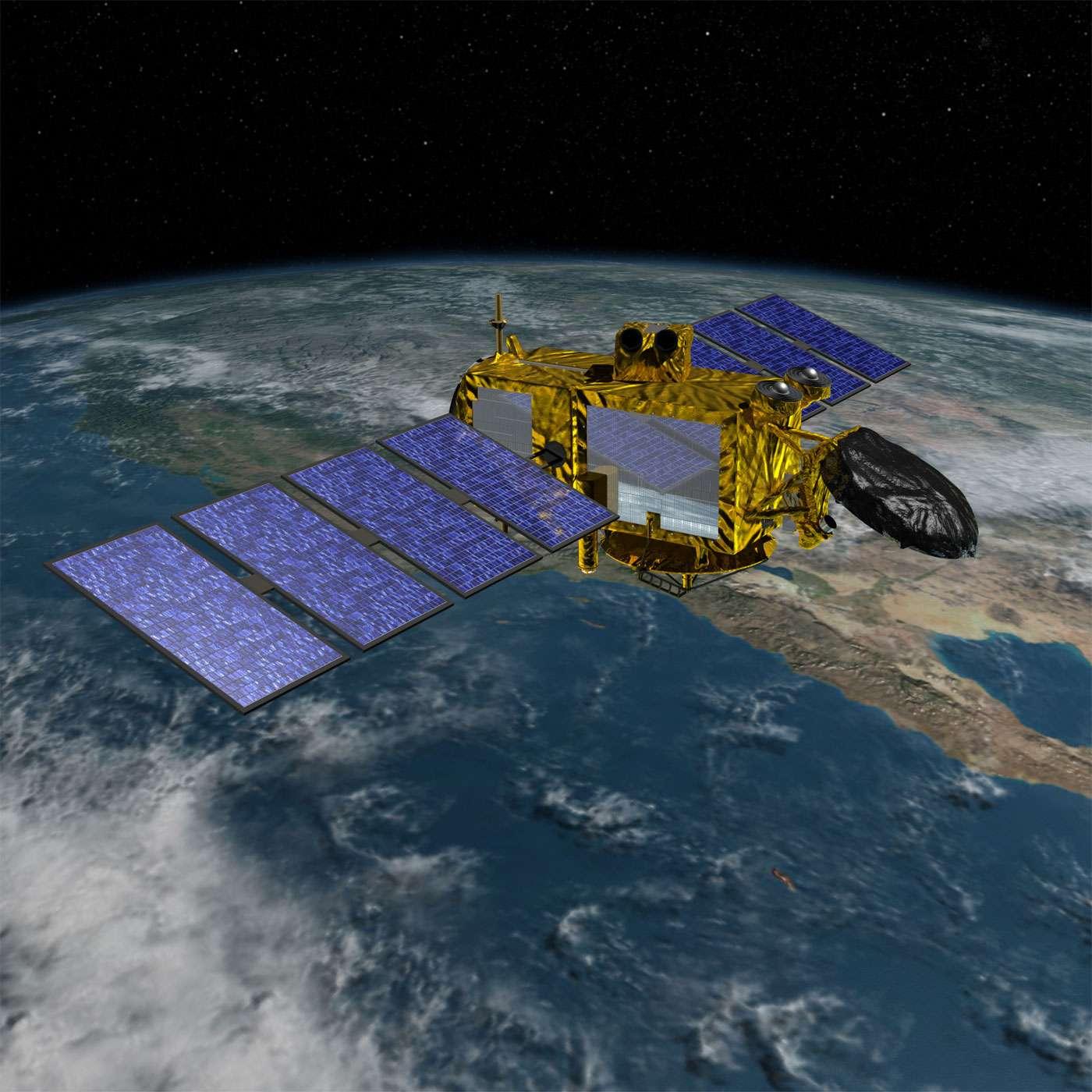 Le satellite océanographique Jason 3 sera le premier satellite du Cnes à être lancé en 2016. Son lancement par un Falcon 9 de SpaceX est prévu le 17 janvier. © Cnes