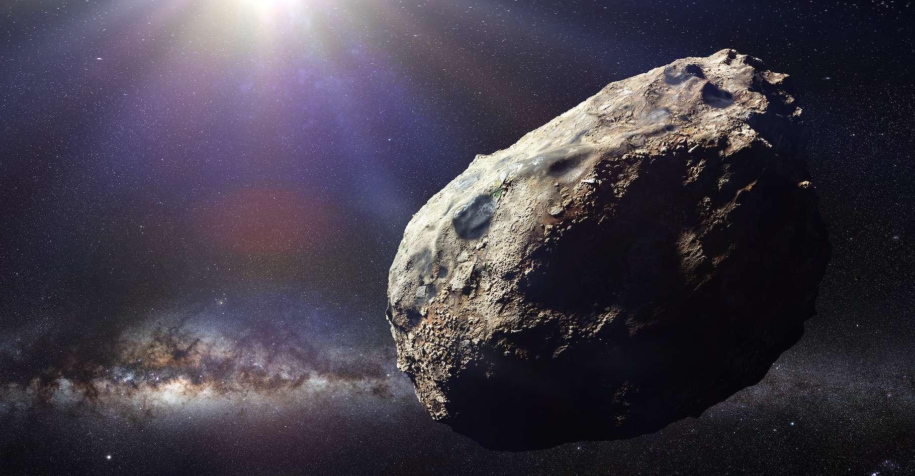 Un astéroïde de taille importante nommé (52768) 1998 OR2 passera dans les environs de notre Terre à la fin du moins d'avril. Mais il ne constitue pas une menace pour l'humanité. © dottedyeti, Adobe Stock