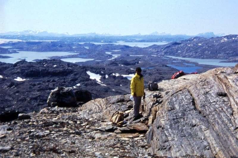 Une vue de la région d'Isua au Groenland. © Tokyo Institute of Technology