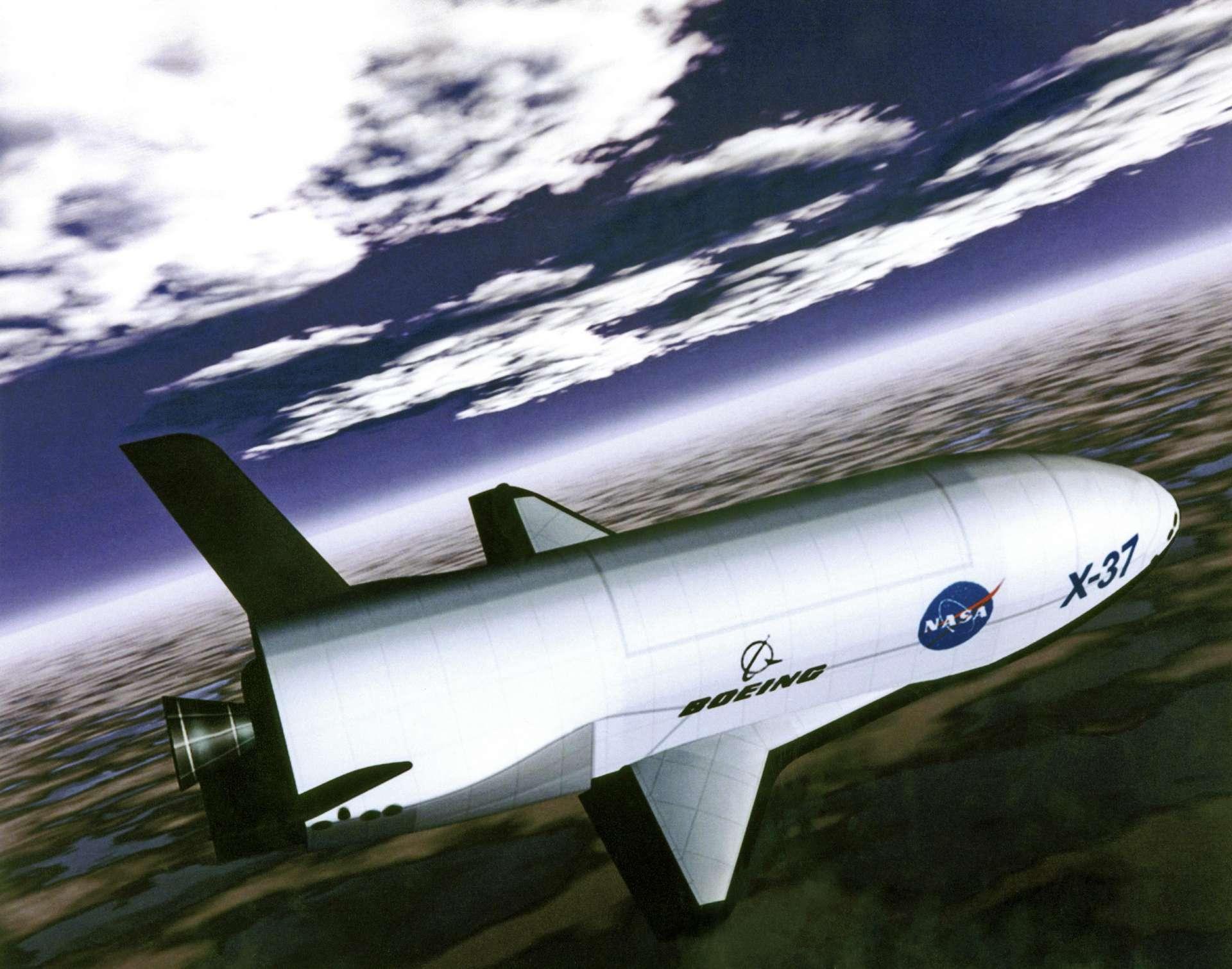 La navette X-37B vient de battre son propre record de durée de vol dans l'espace. © Monroe Conner, Nasa