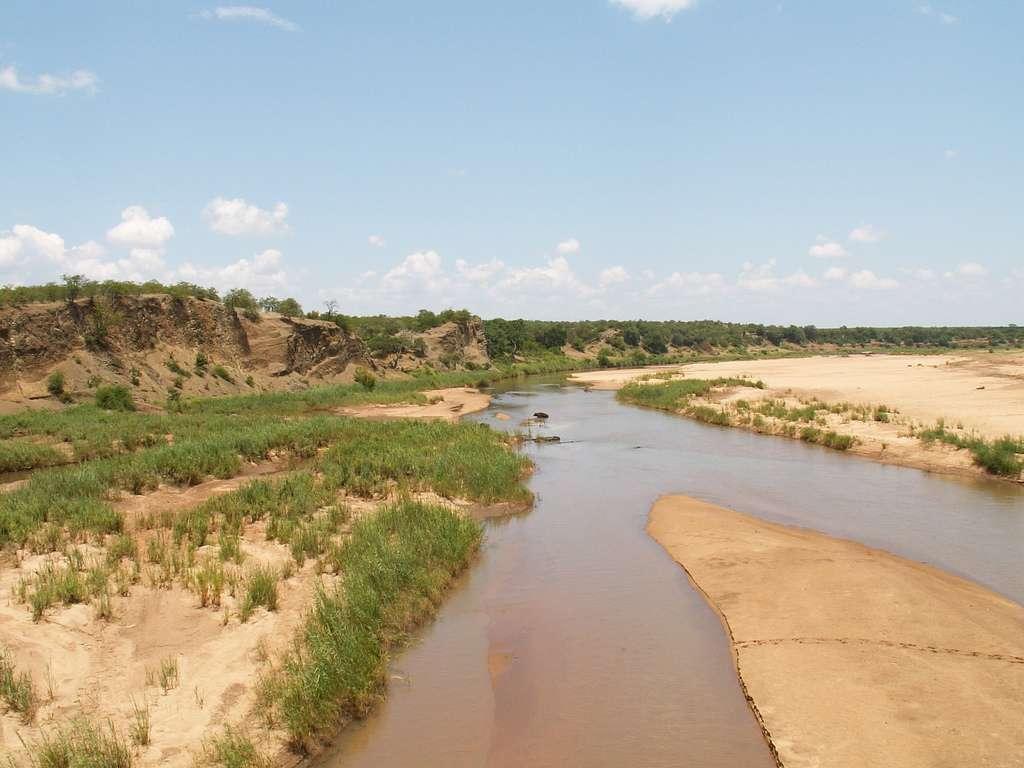 En été austral, le parc national Kruger connaît, depuis le début des années 1990, une augmentation abrupte et intense de la température de l'air. © Valérie Hukalo, Flickr, cc by nc sa 2.0