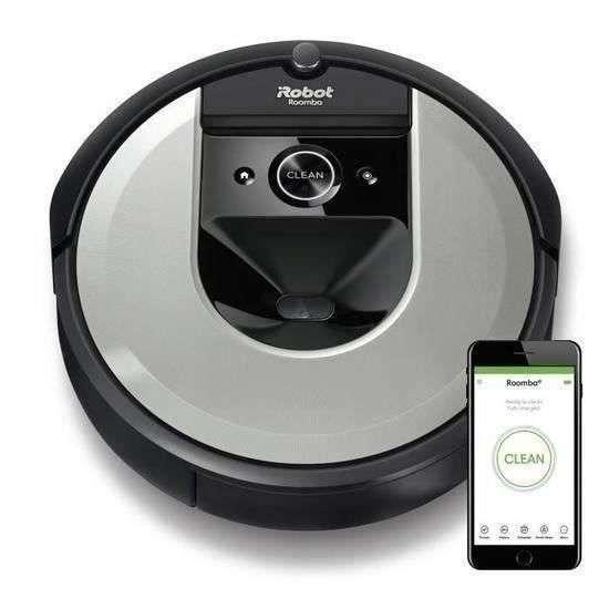 Bénéficiez d'une réduction de plus de 95 € sur l'aspirateur robot iRobot Roomba i7156 © Cdiscount