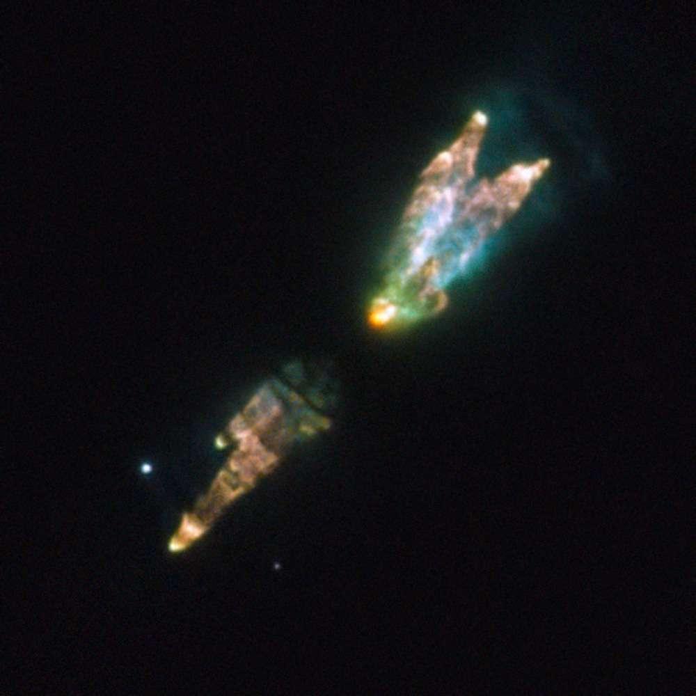 La nébuleuse protoplanétaire de Westbrook. © Esa/Nasa/Hubble