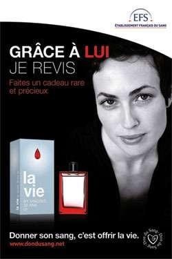 L'EFS appelle les Français à donner leur sang pour les fêtes de fin d'année. © EFS