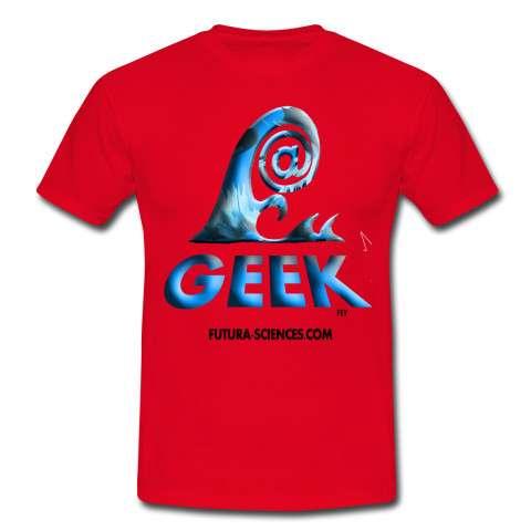 Surfez sur le Web, les vagues mais surtout sur la tend@nce geek avec des T-shirts originaux ! © Futura-Sciences