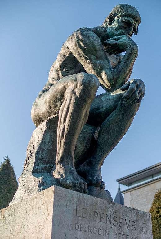 Rester seul perdu dans ses pensées : un challenge ? © Thibsweb, Wikimedia Commons, cc by sa 3.0