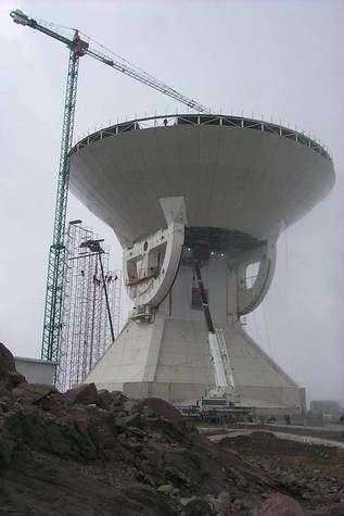 Large Millimeter Telescope (LMT) - crédits Large Millimeter Telescope Project