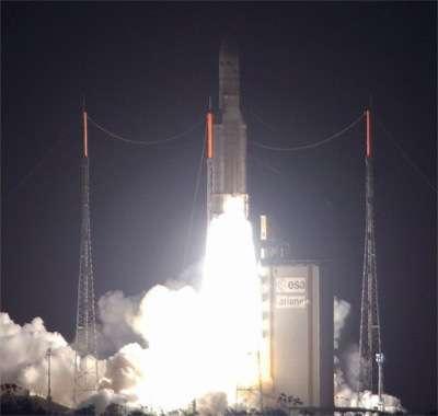 Mission réussie pour Ariane 5 ECA : capacité record mise en orbite