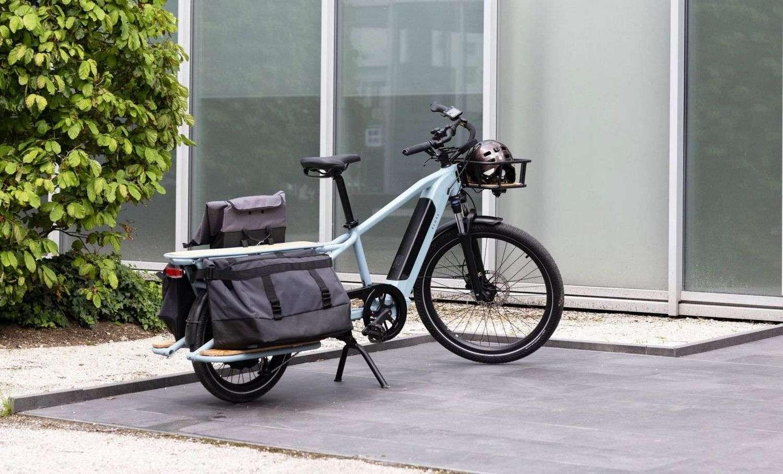 Le vélo cargo électrique de Decathlon sera dévoilé plus en détails d'ici la fin de l'année. © Decathlon
