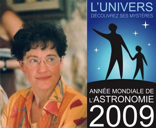 Françoise Combes, astrophysicienne à l'Observatoire de Paris et vice-présidente de l'AMA 09. Crédit OBSPM