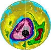 Stabilisation du trou d'ozone