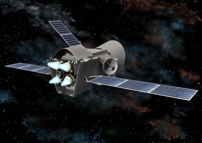 La propulsion ionique fonctionne très bien dans l'espace et est de plus en plus utilisée pour les satellites et même les sondes interplanétaires. © DR