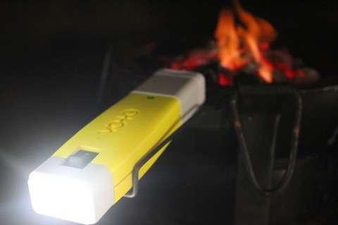 La batterie de la minipile à combustible Voto a une capacité de 4.000 mAh, pour une tension de 1,2 V. © Point Source Power