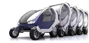 Les voitures du MIT, empilables comme des caddies !