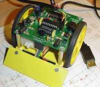 Tout savoir pour concevoir un robot minisumo. © Frédéric Giamarchi