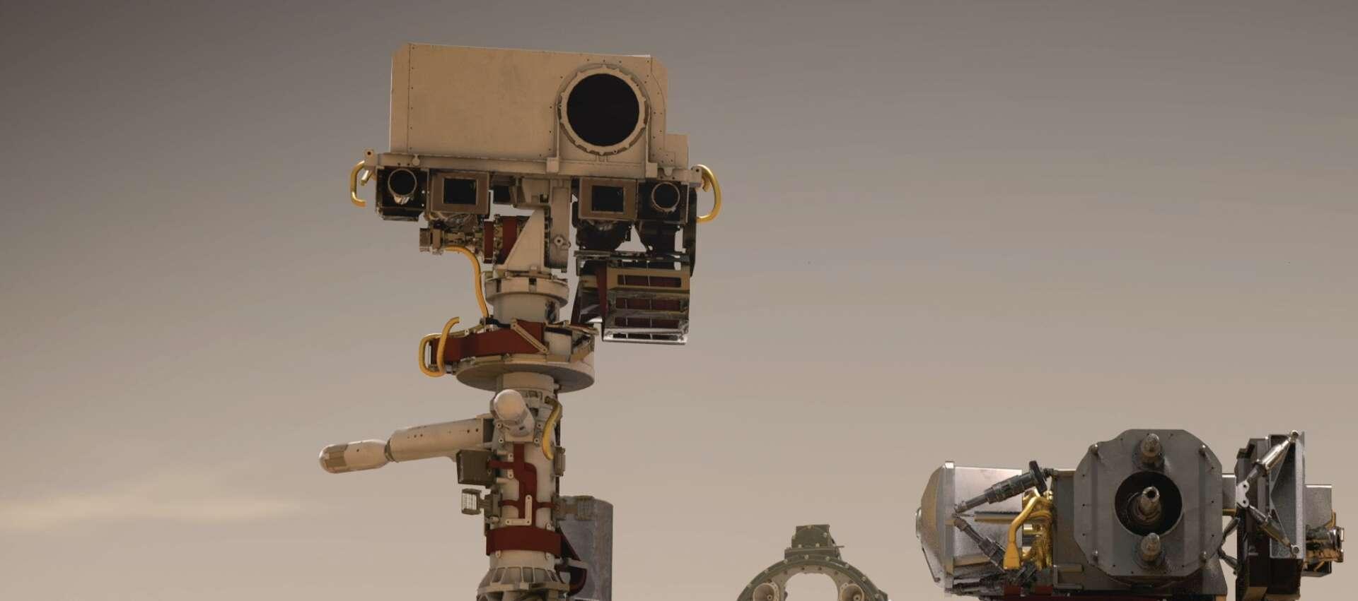 Le rover Perseverance. © Nasa, JPL-Caltech