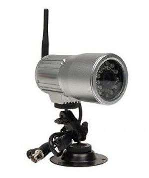 Caméra de surveillance.
