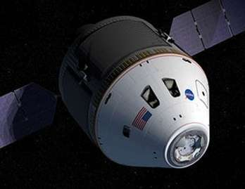 Le remplaçant des navettes américaines s'appellera Orion(Crédits : NASA)