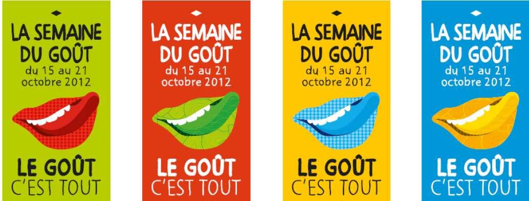 La Semaine du goût a lieu du 15 au 21 octobre. © DR