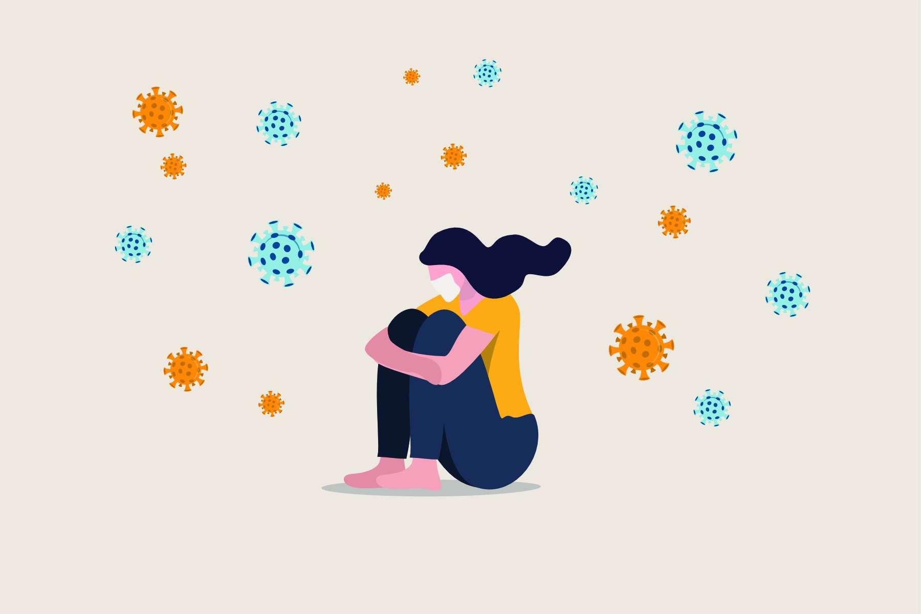 Anxiété, isolement social, chômage… 75.000 personnes pourraient mourir des suites du confinement dans les 10 ans à venir aux États-Unis. © Nuthawut, Adobe Stock