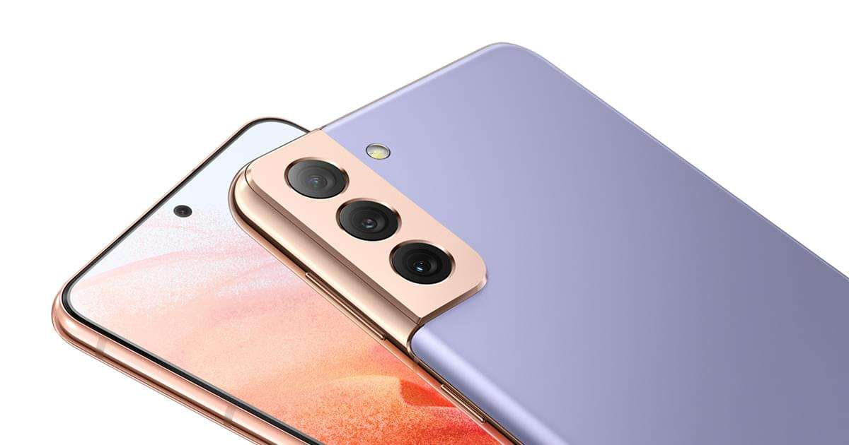 Obtenez le Samsung Galaxy S21 4G à prix cassé chez SFR © Samsung.com