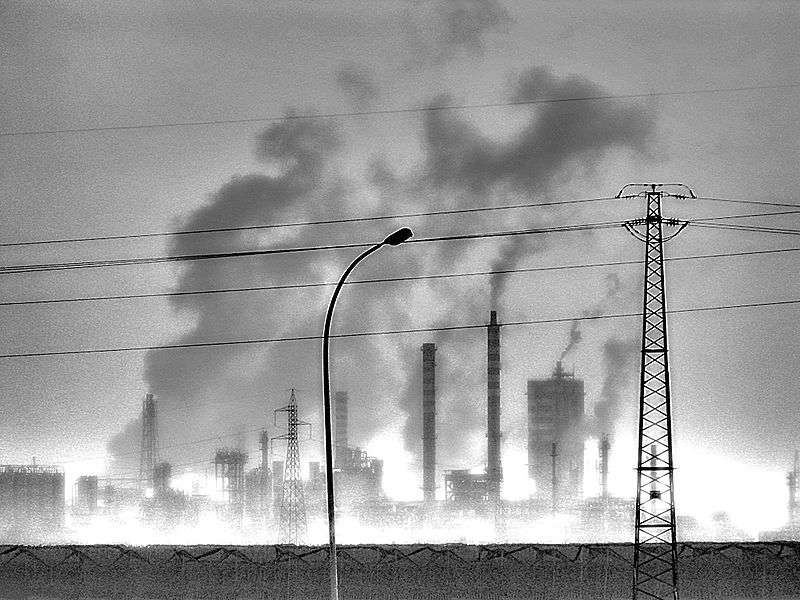 La pollution de l'air modifie le diamètre des microvaisseaux et augmente ainsi les risques de maladies cardiovasculaires. © Sudika, Wikimedia, CC by-sa 3.0