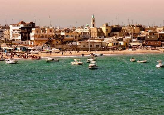 Ngor se situe dans l'ouest du Sénégal, au bord de l'Atlantique. Le régime de vent y est tel qu'il existe un upwelling dans cette zone. © C. Costantini, IRD