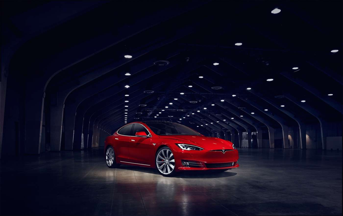 La Tesla Model S remporte la palme de l'autonomie devant sa petite sœur la Model 3. © Tesla